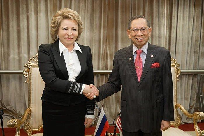 Председатель Совета МПА СНГ провела переговоры с Председателем Сената Парламента Малайзии