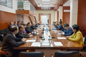 Наблюдатели от МПА СНГ провели ряд встреч с представителями политических партий Республики Казахстан