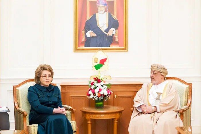 Председатель Совета МПА СНГ встретилась с Председателем Государственного совета Султаната Оман