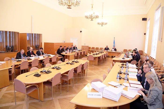 В Таврическом дворце состоялось заседание Постоянной комиссии МПА СНГ по экономике и финансам