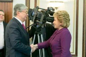 Председатель Совета МПА СНГ и Председатель Сената Парламента Республики Казахстан обсудили вопросы международного сотрудничества