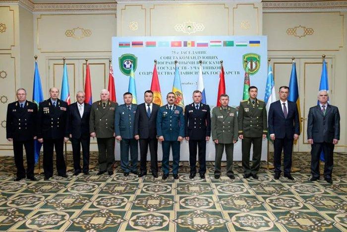 75-е заседание Совета командующих Пограничными войсками состоялось в Ашхабаде