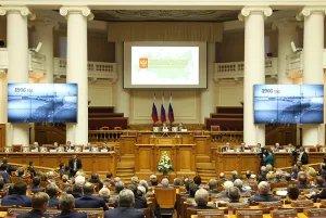 В Таврическом дворце Санкт-Петербурга состоялось заседание Совета законодателей РФ, посвященное 110-летию российского парламентаризма