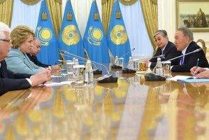 В Астане состоялись встречи Валентины Матвиенко и руководства Республики Казахстан
