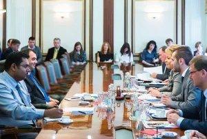 Председатель Совета МПА СНГ встретилась с Председателем Межпарламентского союза