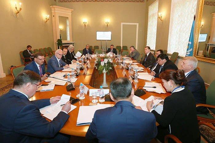 В штаб-квартире МПА СНГ говорили о вопросах международного сотрудничества