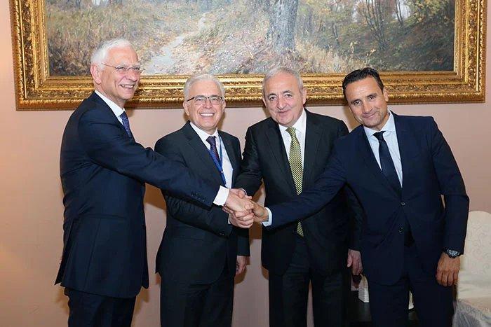 Генеральные секретари четырех парламентских ассамблей встретились в Таврическом дворце