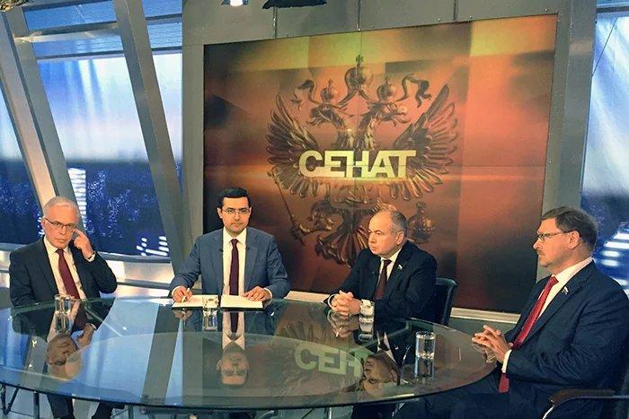Итоги весенней сессии МПА СНГ подвели на телеканале «Россия 24»