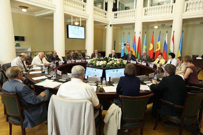 В Таврическом дворце прошло заседание Экспертного совета Межпарламентской Ассамблеи государств — участников СНГ и Регионального содружества в области связи