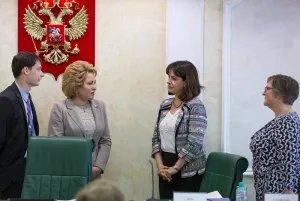 Председатель Совета МПА СНГ встретилась с членами оценочной миссии Секретариата МПС
