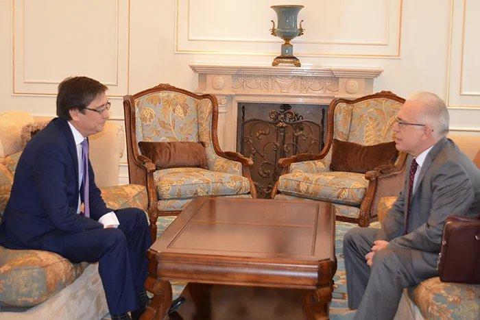 Алексей Сергеев встретился с Руководителем Аппарата  Жогорку Кенеша Кыргызской Республики