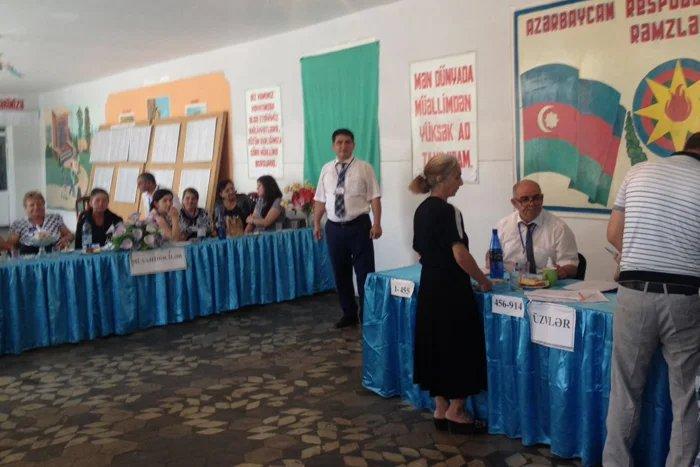 Бакинский филиал МИМРД МПА СНГ провел наблюдение за повторными выборами в парламент Азербайджана