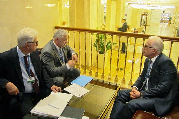 Алексей Сергеев встретился с руководством Парламентской конференции Балтийского моря