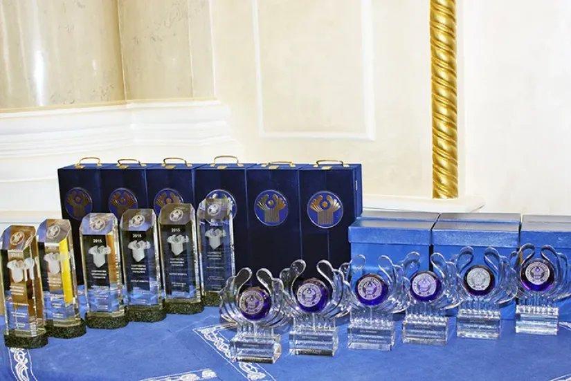 Вручены Премии СНГ 2015 года за достижения в области качества продукции и услуг