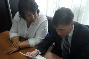Международные наблюдатели от МПА СНГ посетили территориальную избирательную комиссию Кингисеппского муниципального района