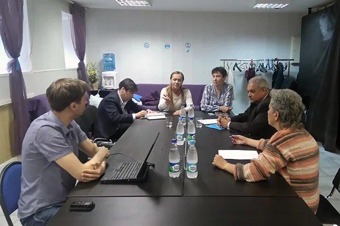 Международные наблюдатели от МПА СНГ встретились с представителями  общественной организации «Наблюдатели Петербурга»