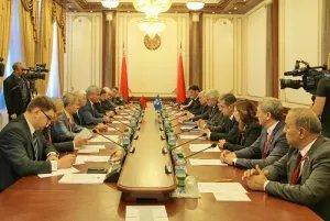 Группа международных наблюдателей от МПА СНГ встретилась с руководством парламента Республики Беларусь