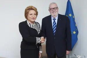 Председатель Совета МПА СНГ и глава ПА СЕ обменялись мнениями по вопросам актуальной международной повестки дня