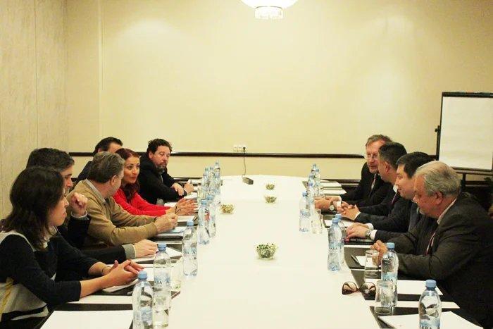 Координатор группы наблюдателей от МПА СНГ провел встречи с зарубежными коллегами