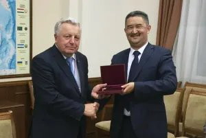 Владимир Гаркун награжден медалью «За укрепление парламентского сотрудничества»