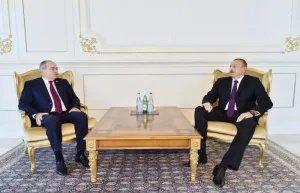 Состоялась встреча Президента Азербайджана и руководителя Миссии наблюдателей от МПА СНГ