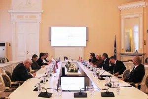 В Таврическом дворце состоялось заседание Контрольно-бюджетной комиссии МПА СНГ
