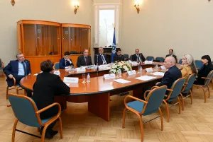 О правовых вопросах говорили в штаб-квартире МПА СНГ