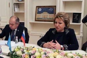 Главы парламентов СНГ проводят двусторонние встречи на полях осенней сессии МПА СНГ