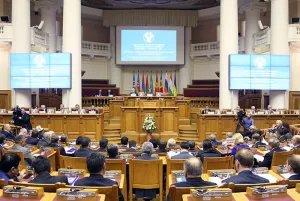 Валентина Матвиенко провела сорок пятое пленарное заседание МПА СНГ