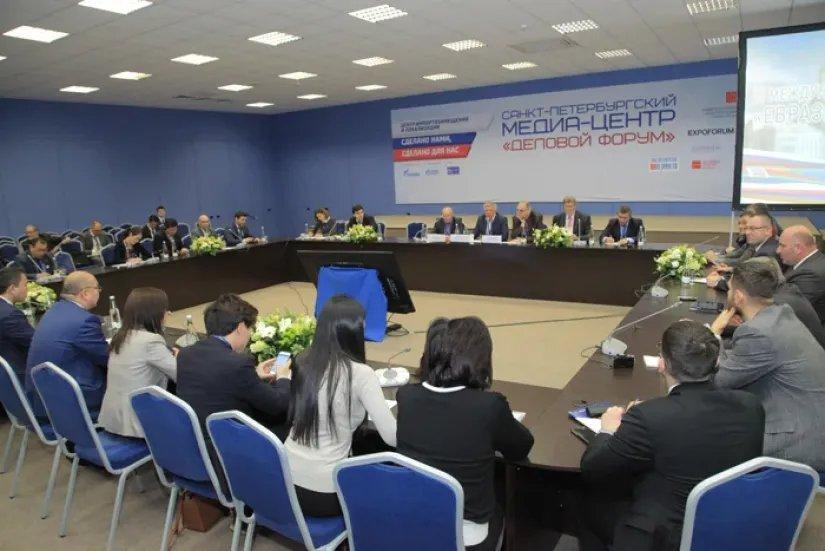 Процессы развития евразийской интеграции обсудили в Северной столице