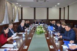 В Бишкеке прошло организационное совещание группы международных наблюдателей от МПА СНГ