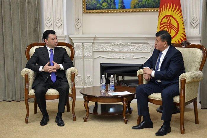 Состоялась встреча Премьер-министра Кыргызской Республики с наблюдателями от МПА СНГ