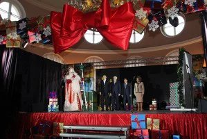 В Таврическом дворце прошел новогодний детский бал