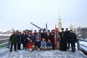 Полуденный выстрел прозвучал в память о погибших детях Ленинграда