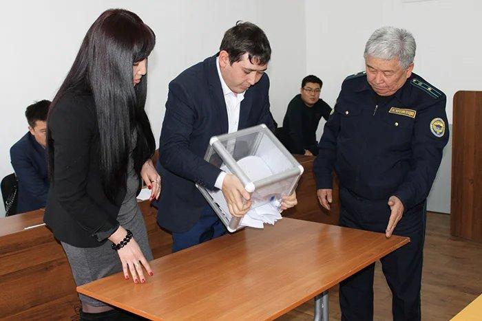 Сотрудники Бишкекского филиала МИМРД МПА СНГ провели наблюдение за выборами мэра города Кант
