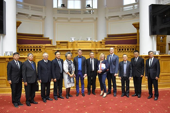 Делегация Комитета по международным делам Национального Собрания Королевства Таиланд посетила Таврический дворец