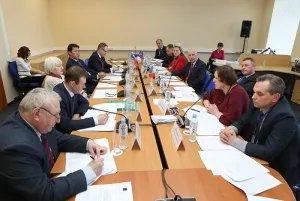 Заседание Постоянной комиссии МПА СНГ по правовым вопросам состоялось в Таврическом дворце