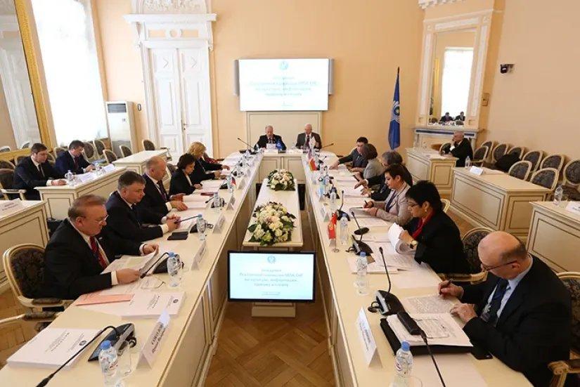 О культуре, информации, туризме и спорте стран Содружества говорили на заседании в Таврическом дворце