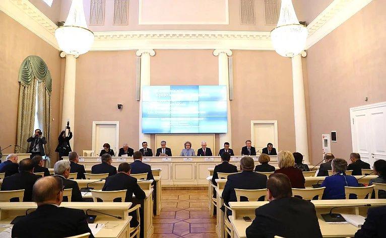 Сорок шестое пленарное заседание МПА СНГ прошло в Таврическом дворце
