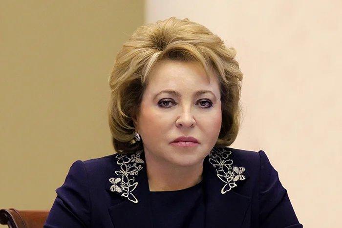 Валентина Матвиенко выразила соболезнования в связи с терактом в Санкт-Петербурге