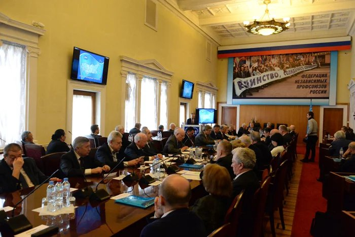 Торжественное заседание Совета Всеобщей конфедерации профсоюзов, посвященное 25-летию со дня образования, прошло в Москве