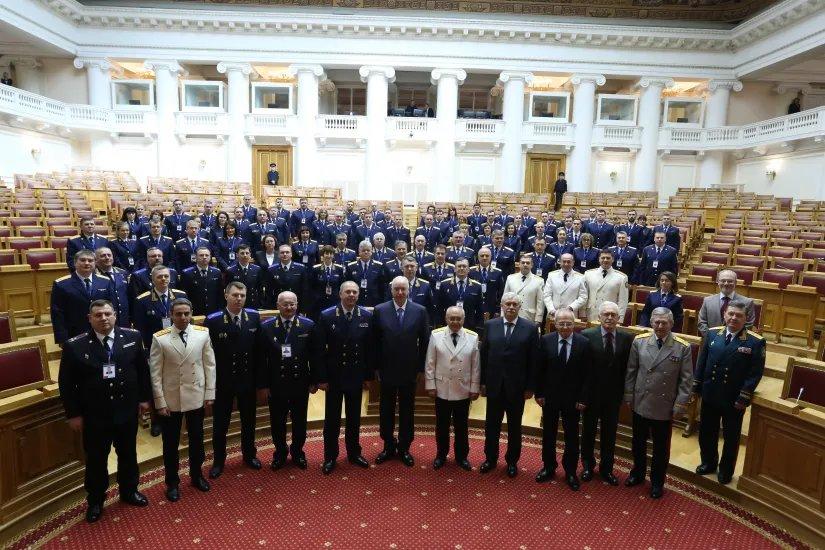 Первое совместное заседание коллегий следственных комитетов Республики Армения, Республики Беларусь и Российской Федерации проходит в Таврическом дворце