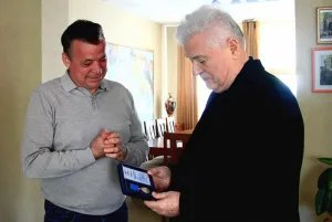 Владимир Воронин награжден юбилейной медалью Межпарламентской Ассамблеи СНГ
