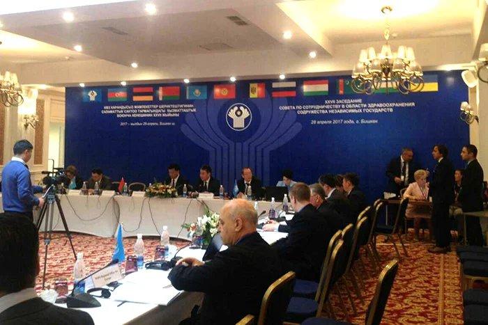 В Бишкеке проходит XXVII заседание Совета по сотрудничеству в области здравоохранения СНГ