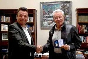 Петр Лучинский награжден юбилейной медалью Межпарламентской Ассамблеи СНГ