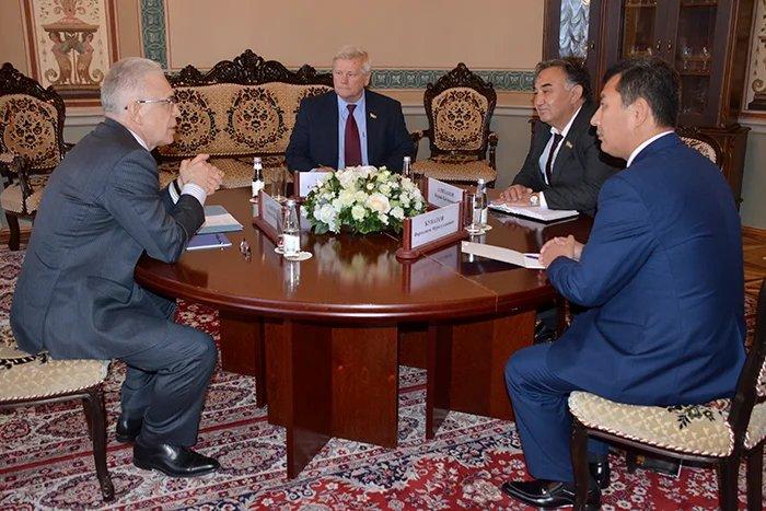 Алексей Сергеев встретился с делегацией Республики Узбекистан