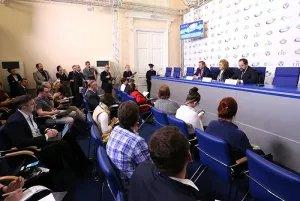 Пресс-конференция, посвященная Невскому экологическому конгрессу, прошла в Таврическом дворце