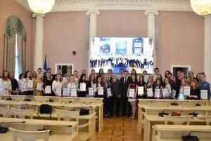 В Таврическом дворце наградили волонтеров восьмого Невского международного экологического конгресса