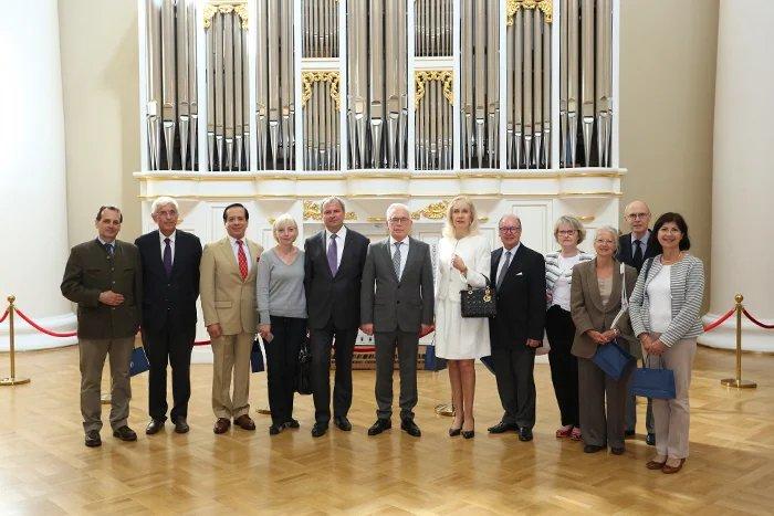 Алексей Сергеев встретился с представителями консульского корпуса Страсбурга