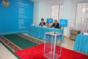 Состоялось голосование на выборах депутатов Сената Парламента Республики Казахстан